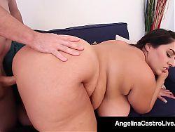 Spanish Sucking Lessons With Angelina Castro & Sofia Rose!