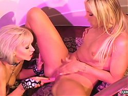 Hot Ashley Steel and Frankie Dashwood are pleasing each othe