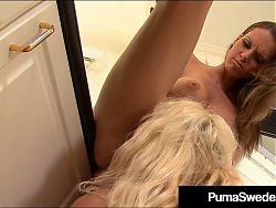 Busty Blonde Bombshell Puma Swede Fucked By Jennifer Dark!