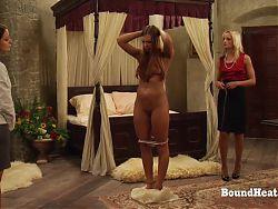 Education of Adela: Mistress Teaches Lady How To Treat Slave